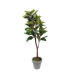 TepeHome - 160Cm Yapay Manolya Ağacı Gerçek Dokunuş