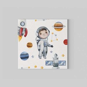 TepeHome - Astronot Kanvas Tablo