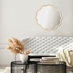 TepeHome - Ayna 60 x 60 Cm - Gold