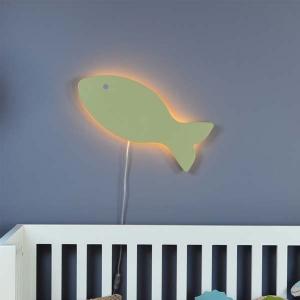 Balık Duvar Lambası Aplik - Thumbnail