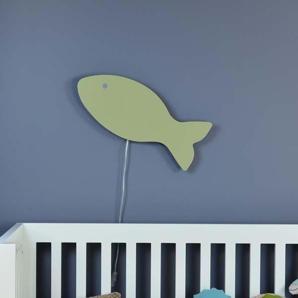 Balık Duvar Lambası Aplik