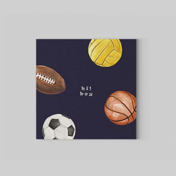 Ball Kanvas Tablo