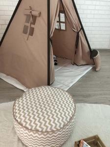TepeHome - Bej Kahve Oyun Çadırı