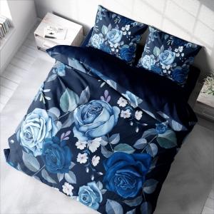 TepeHome - Blue Flower Çift Kişilik Nevresim Takımı