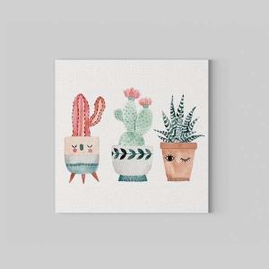 TepeHome - Cactus Kanvas Tablo