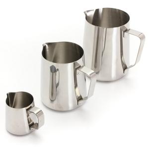 TepeHome - Çelik Süt Potu Kahve Sürahisi 3 Lü Set
