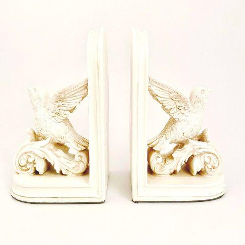 Dekoratif Kitap Desteği Kuş