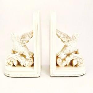 Dekoratif Kitap Desteği Kuş - Thumbnail