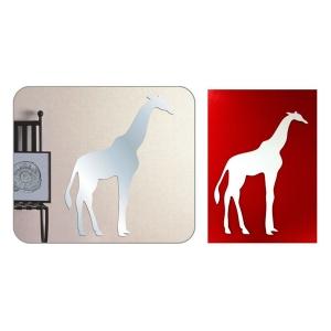 TepeHome - Duvar Sticker Zürafa Şekilli 20x14x0,6cm