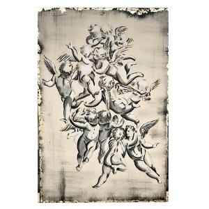 TepeHome - El Yapımı Yağlı Boya Dokulu Kanvas Tablo