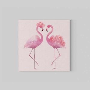 TepeHome - Flamingos Kanvas Tablo