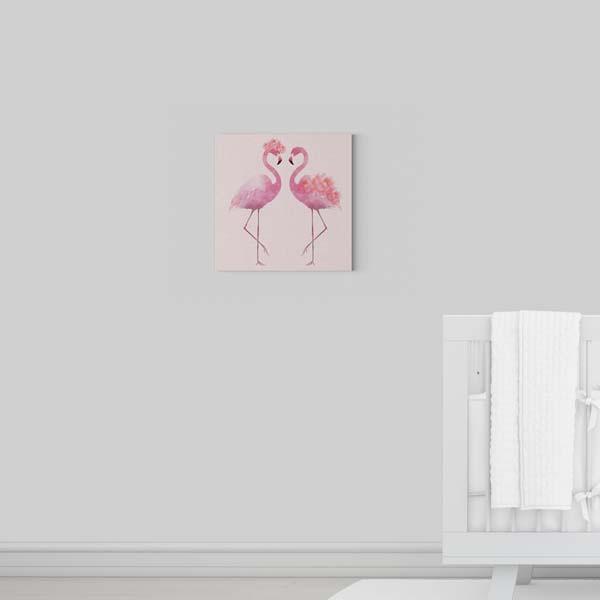Flamingos Kanvas Tablo