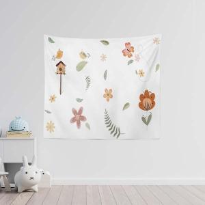 TepeHome - Flowers Duvar Örtüsü