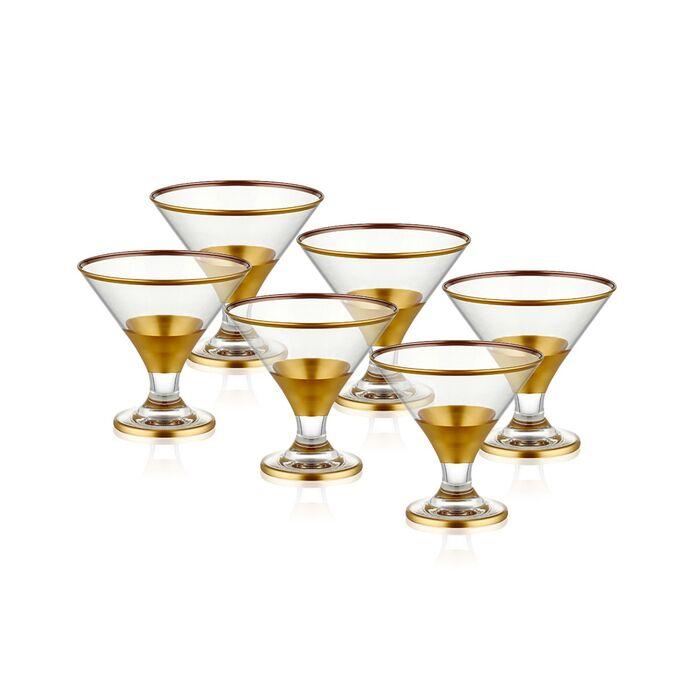 TepeHome - GLAM DONDURMALIK 6 PARÇA - GOLD