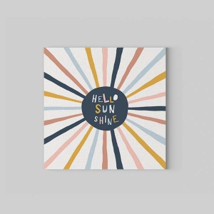 TepeHome - Hello Sunshine Kanvas Tablo