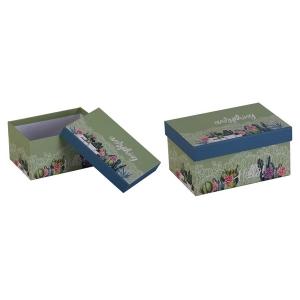 TepeHome - Kapaklı Saklama Kutusu 15x11x7cm 1Lt