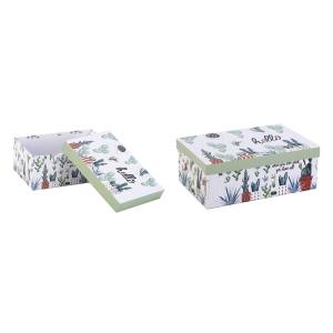 TepeHome - Kapaklı Saklama Kutusu 21x15x9cm 3Lt
