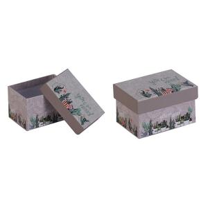 TepeHome - Kapaklı Saklama Kutusu 9x7x5cm 300ml