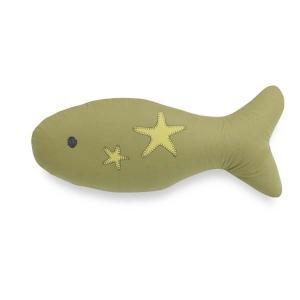 TepeHome - Küçük Yeşil Balık Yastık