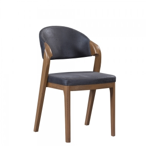 TepeHome - Lantana Ahşap Bazalı Sandalye