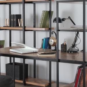 Lavoro Çalışma Masası Kitaplık Takımı - Thumbnail