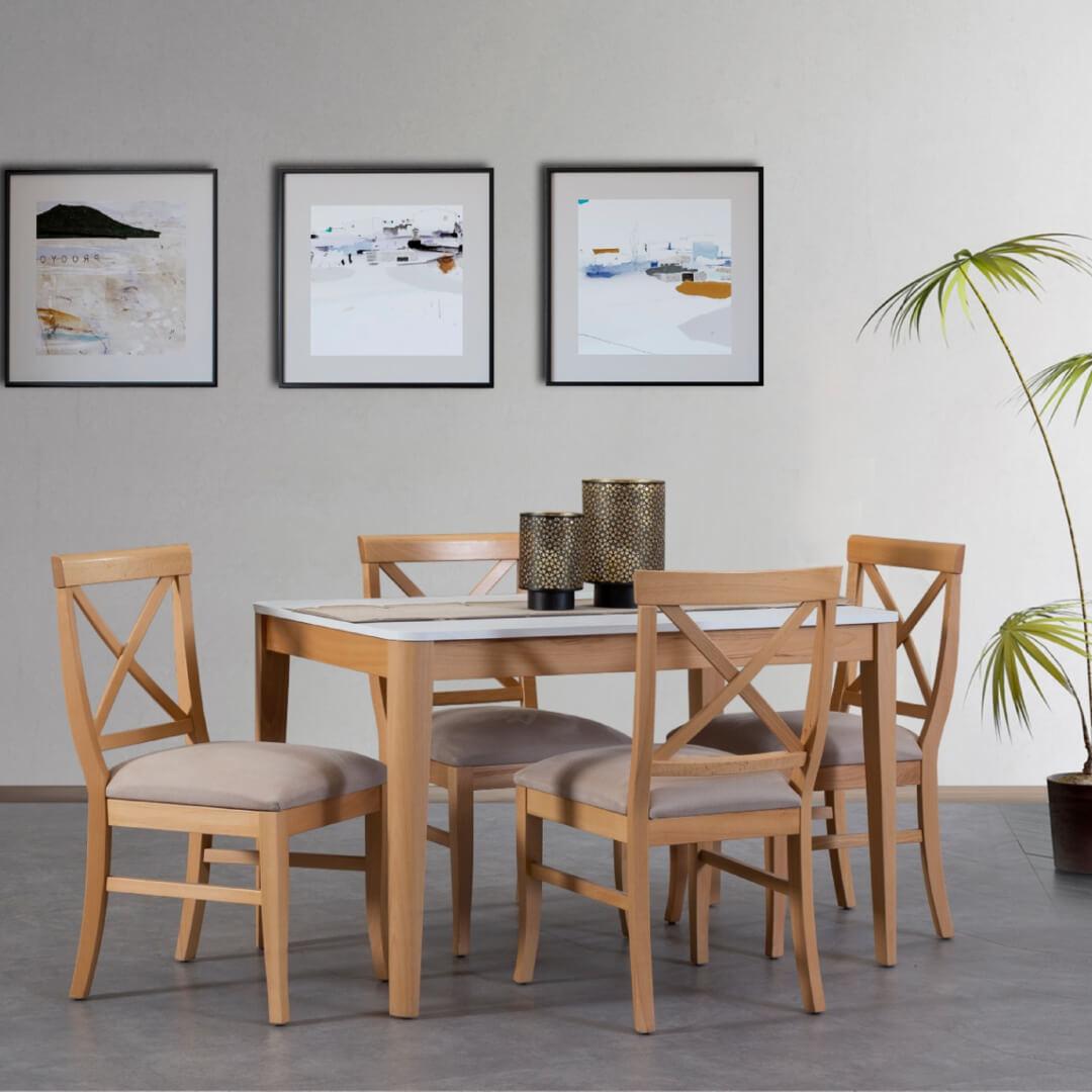 TepeHome - Lıss Dikdörgen Mutfak Masası