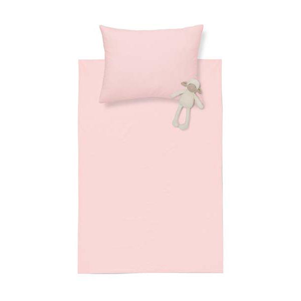 Pink Bebek Lastikli Çarşaf Seti