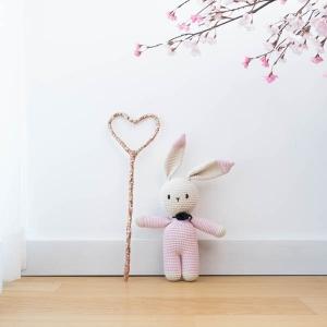 TepeHome - Pink Heart Sihirli Asa
