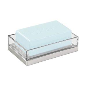 TepeHome - Sabunluk Modern Gümüş Tasarımlı 12x8x3cm