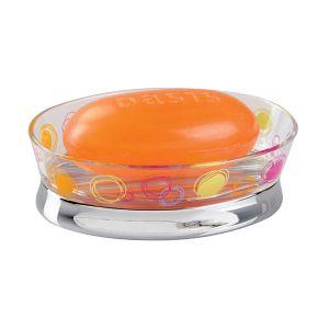 Sabunluk Renkli Halkalı Model 12x8x4cm - Thumbnail