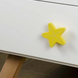 TepeHome - Sarı Deniz Yıldızı Kulp
