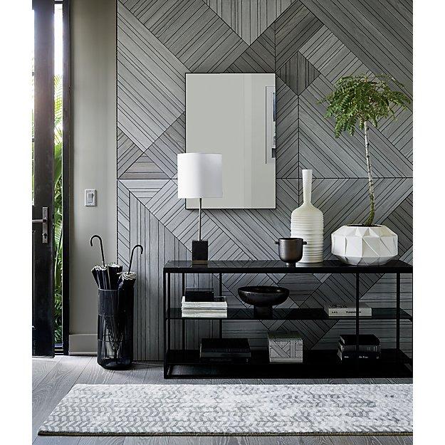 TepeHome - Sıllage Dekoratif Duvar Aynası Siyah