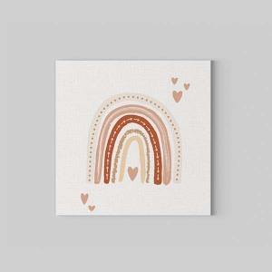 TepeHome - Soft Rainbow Kanvas Tablo