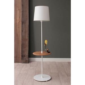 TepeHome - Tray Lamp - Beyaz -Meşe