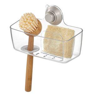 TepeHome - Vantuzlu Bulaşık Süngeri Ve Fırçalık