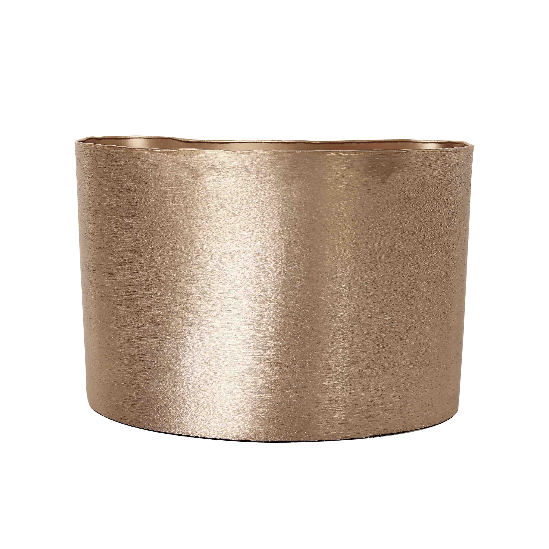 TepeHome - Vazo Crv Brsh Gold 20Cm