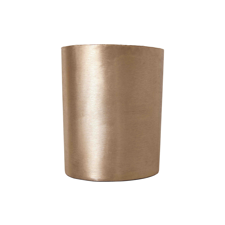 TepeHome - Vazo Crv Brsh Gold 35Cm