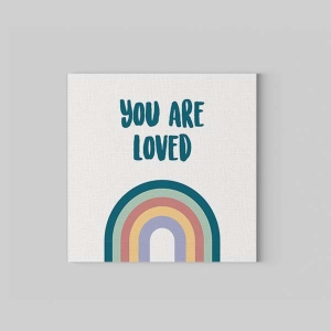 TepeHome - You are Loved Kanvas Tablo