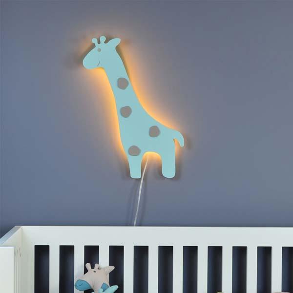 Zürafa Duvar Lambası Aplik